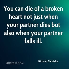 Nicholas Christakis - You can die of a broken heart not just when your ...