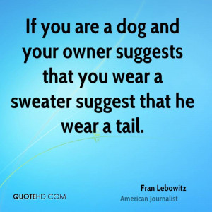 Dog And Owner Quotes...