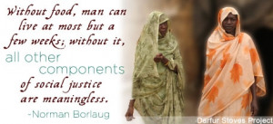 Human Rights - Quotes on Hunger - Norman Borlaug - human-rights Photo