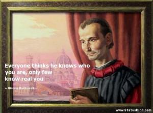 Niccolo Machiavelli Quotes at StatusMind. Niccolo Machiavelli Quotes ...