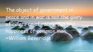Favorite William Beveridge Quotes
