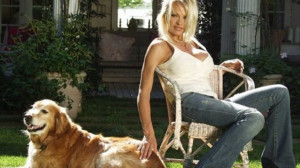 Pamela Anderson was extremely fond of her 17-year-old golden retriever ...