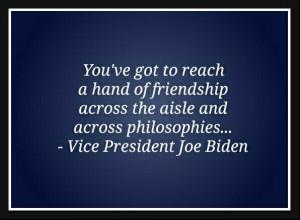 quote by Vice President Joe Biden.