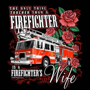 Firefighters Wife Tshirt