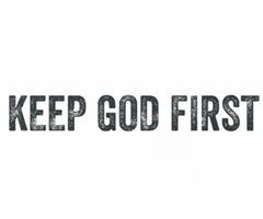 Tagged with keep god first