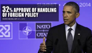 ... foreign policy, on the issue of a strong national defense has been