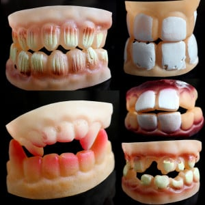 Large braces funny funny dentures Tricky props / buck teeth rabbit ...