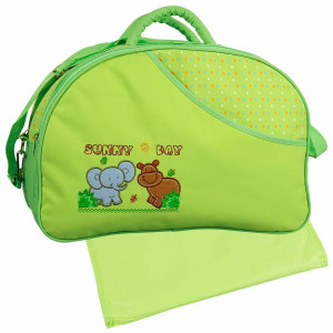 baby clean diaper changing green