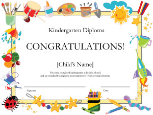 Kindergarten Diploma by Royalty7