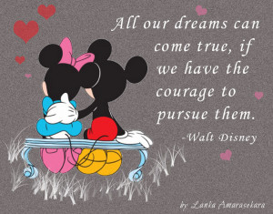 Minnie And Mickey Mouse Love Quotes Mickey quot - quoteko.com