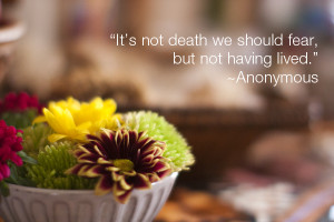 death is not the end, but rather the beginning, and that before death ...