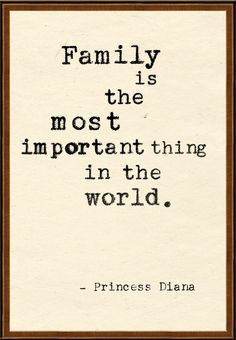 ... . would be nothing without the love and support of my family ♥ More