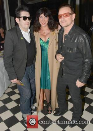Picture - Shane MacGowan, Victoria Mary Clarke and Bono Dublin Ireland ...