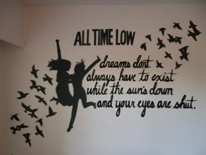 Alex Gaskarth Quote ~ All Time Low ~ Quote Art