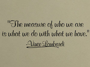 ... -VINYL-DECAL-VINCE-LOMBARDI-FAMOUS-QUOTE-FOOTBALL-STICKER-PHRASE