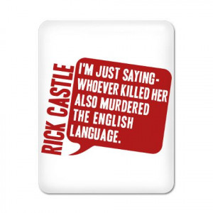Castle Murdered The English Castletv iPad Case by CafePress