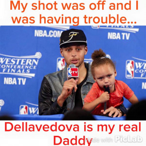Riley Curry Dellavedova Meme