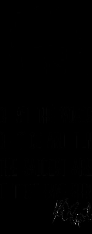 Of all the Words of Mice and Men – Kurt Vonnegut