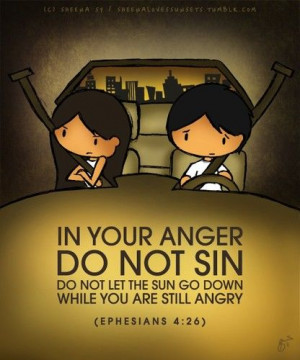 ... the talk about Fighting and arguing with your spouse..*Bible Verse