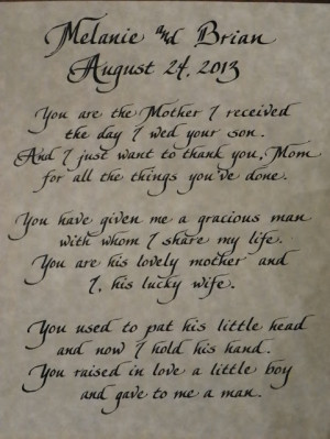 love this new version of a mother in law poem contact me for a quote