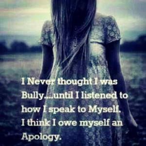Stop the negative self talk!!
