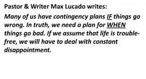 Max Lucado Quote: Click HERE