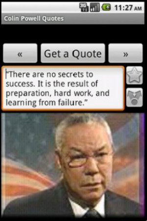 General Colin Powell Quotes