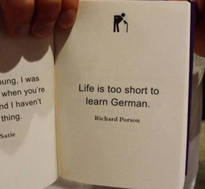 ... on something unimportant… And here are some funny quotes about it