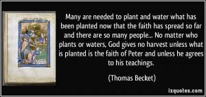 More Thomas Becket Quotes