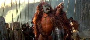 King Kong - Island natives workship a giant ape