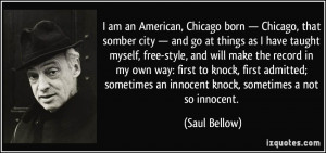 More Saul Bellow Quotes