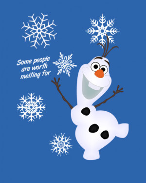 Inspirational Quotes From Frozen Olaf. QuotesGram