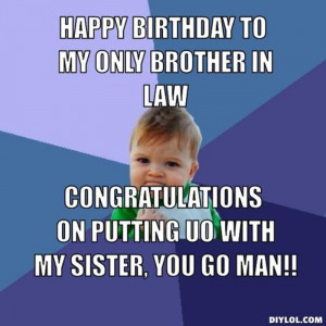 Brother In Law Birthday Quotes. QuotesGram