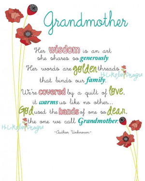Grandmother Passing Quotes