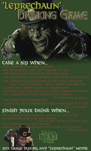 The 'Leprechaun' Drinking Game