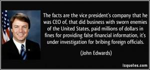 More John Edwards Quotes