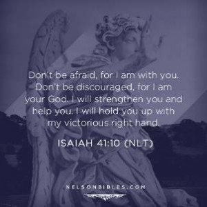 Bible verses about strength and faith in hard times