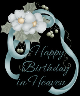 ... celebrating in your own special way..... Love you & Miss you bunches