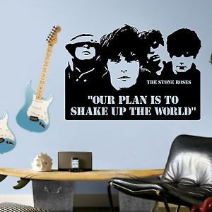 ... Stone-Roses-Ticket-Quote-VInyl-wall-art-sticker-room-decal-music-quote