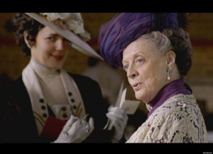 Life Lesson from the Dowager Countess - When Hoping To Appear Blue ...