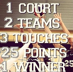 Cute Volleyball Quotes
