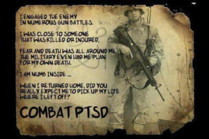 Soldiers with PTSD and the Broken System