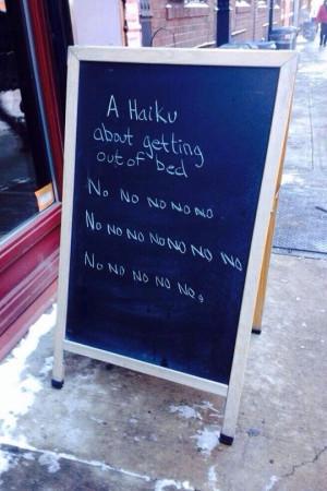 deep, meaningful Haiku