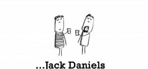 Happiness is Jack Daniels and Coke