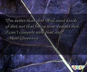Dirt Quotes