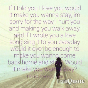 Country Love Song Quotes For Him B9d271e5042d9c76db850c2a8bc60 ...
