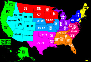 of the United States have different ZIP codes. Different ZIP codes ...