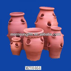 Hot selling set 4 OEM exquisite funny Terracotta Planter Pot