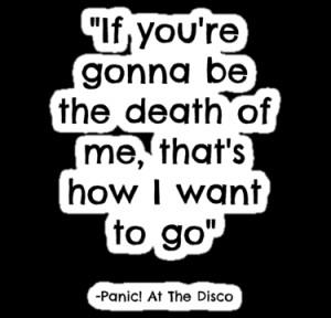 emilygamez › Portfolio › Panic! At The Disco -