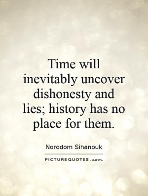 quotes about dishonesty and disrespect